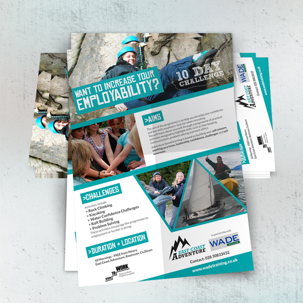 employablility A5 flyer